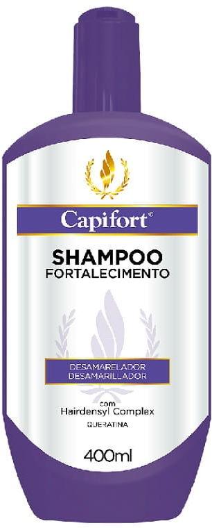 Capifort Anti-Yellow szampon niwelujący żółty odcień bez soli 400ml