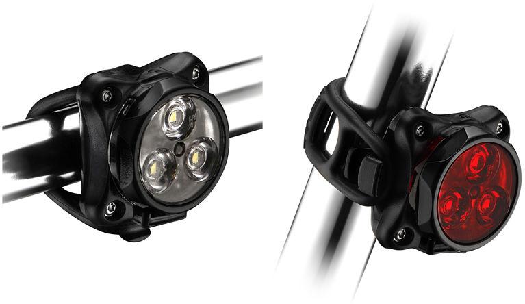Zestaw lampki LEZYNE ZECTO DRIVE przód 250 lumenów, tył 80 lumenów, usb czarne (NEW),4712805989676