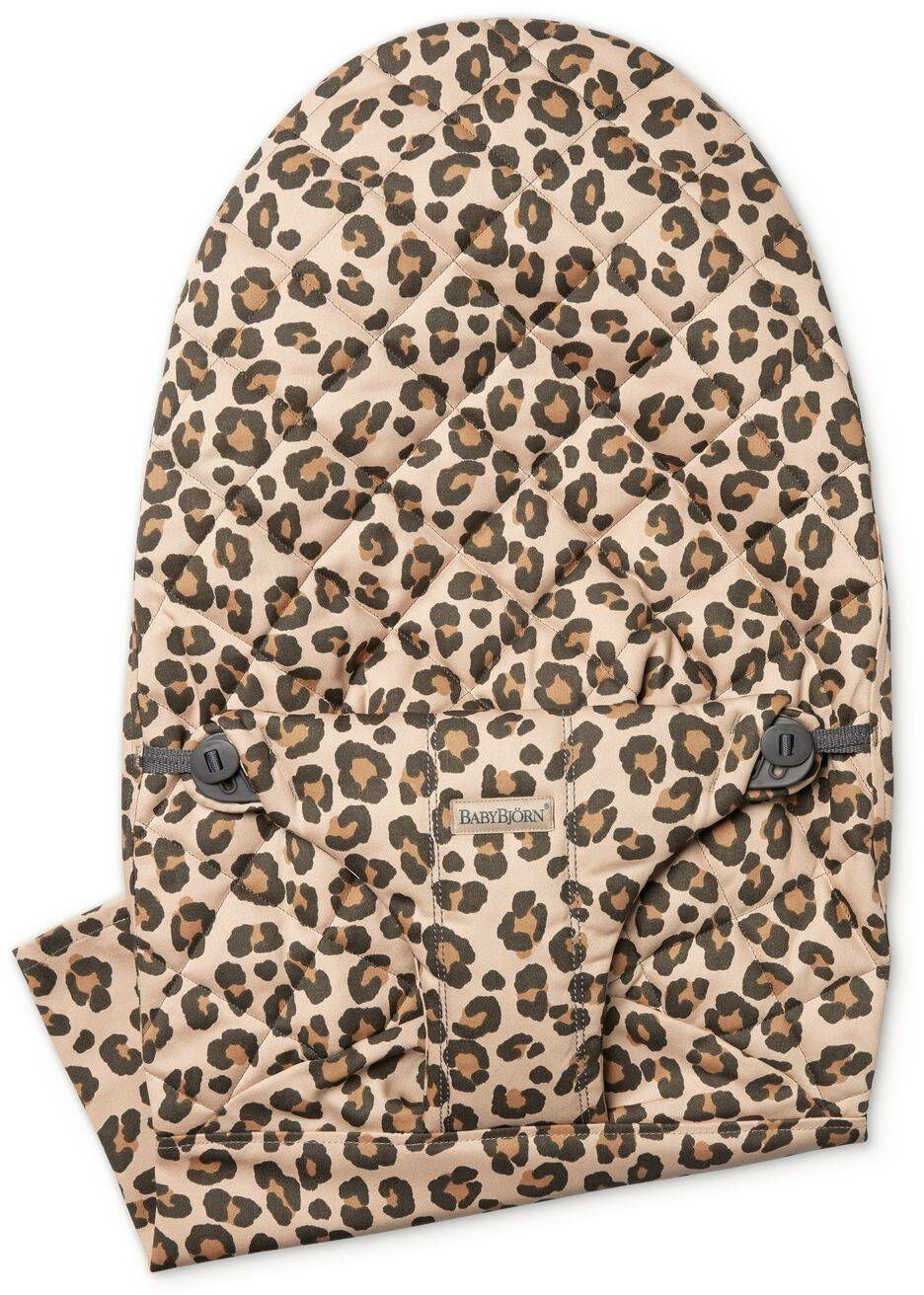BABYBJORN - poszycie do leżaczka Balance Bliss Beż/Leopard, Cotton