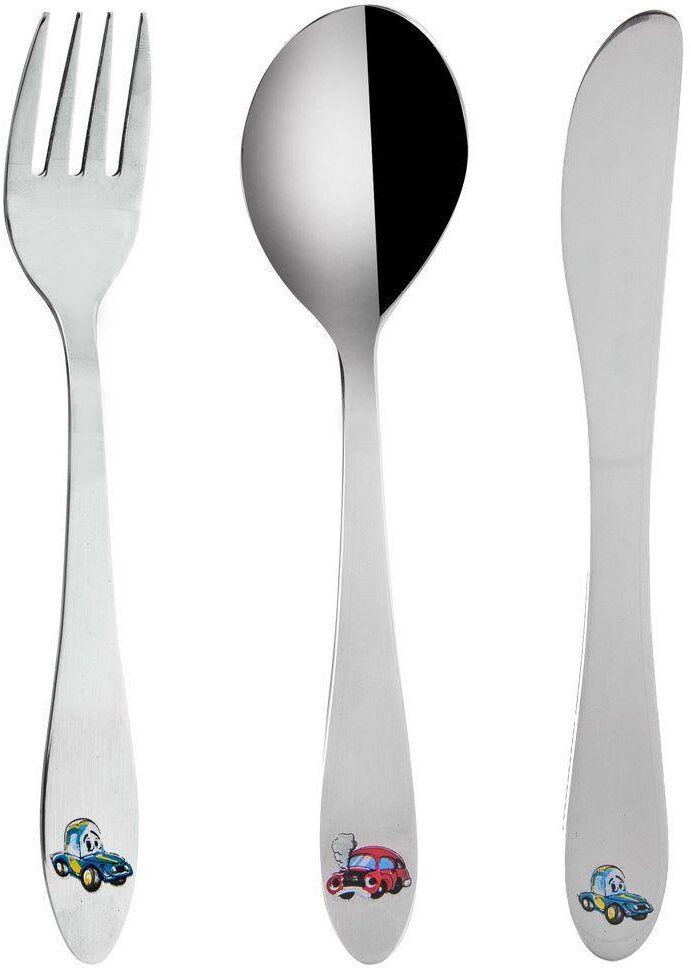 Sztućce dla dzieci, dziecka, łyżka, widelec, nóż, 3 el.