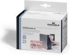 Nasączone ściereczki do plastiku SUPERCLEAN /578802/