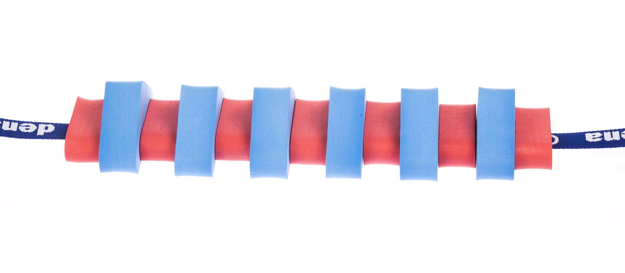 Pas pływacki dla dzieci 1300 niebieski/czerwony