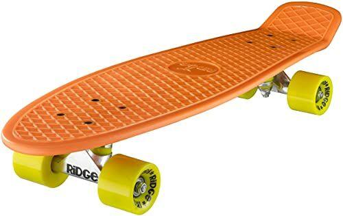 Ridge deskorolka Big Brother nikiel 69 cm Mini Cruiser, pomarańczowy/żółty