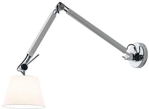 Kinkiet ZYTA WALL S ALU/WH AZ2295 + AZ2599  Azzardo - Zapytaj o kupon rabatowy lub LEDY gratis
