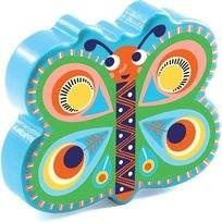 Djeco - Drewniany Marakas Motylek Dj06017