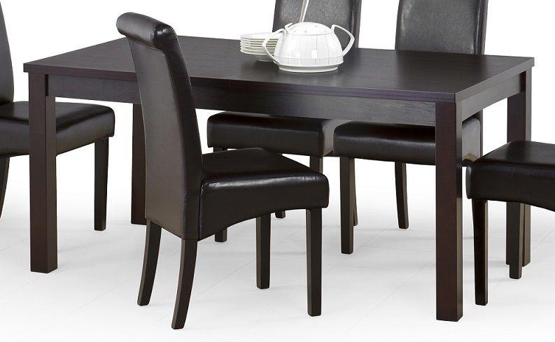 Stół rozkładany HUAN 160-200x90 wenge