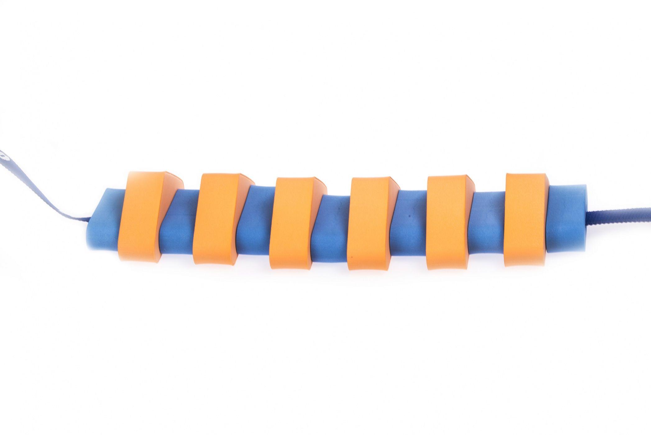 Pas pływacki dla dzieci 1300 niebiesko/pomarańczowy