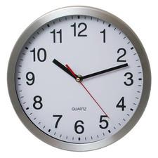 """Zegar aluminiowy na ścianę 10"""""""