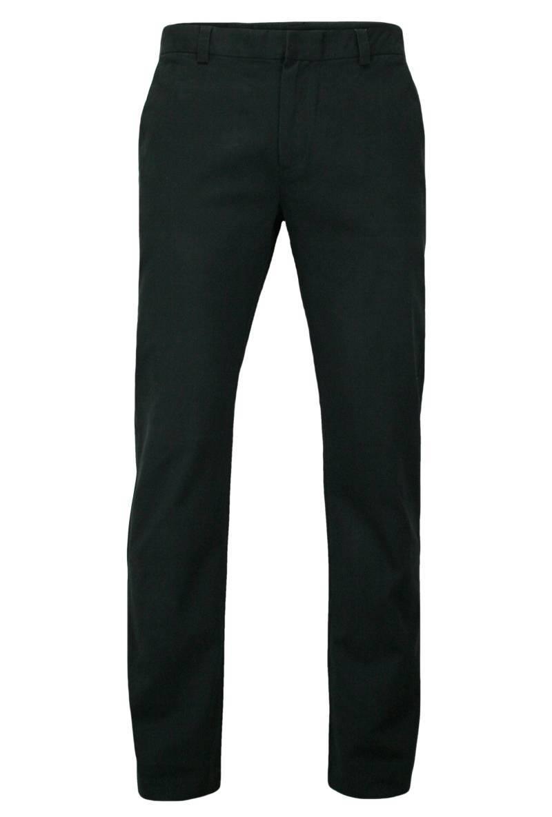 Eleganckie, Męskie Spodnie, 100% BAWEŁNA, Chinosy, Wygodne, Czarne SPCHIAOM3A03CZARNE