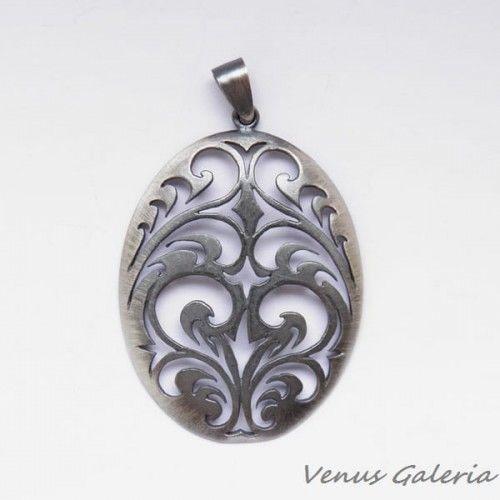Wisiorek - Witraż srebrny