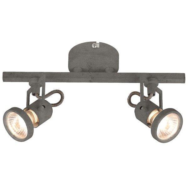Lampa CONCRETO listwa 2pkt jak z betonu LED