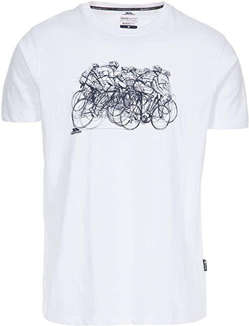 Trespass WICKY II szybkoschnący t-shirt, biały, XXS