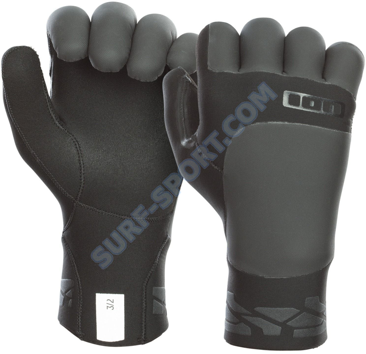 Rękawice Neoprenowe Ion Claw Gloves 3/2 -2020 Black