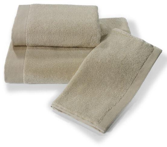 Mały ręcznik MICRO COTTON 32x50cm Jasnobeżowy