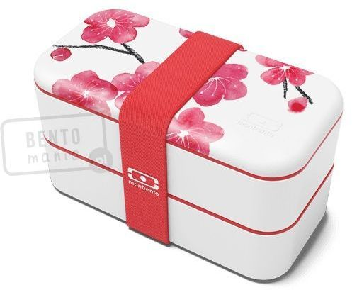 Lunch box MONBENTO Original Collection - japońskie kwiaty (blossom)