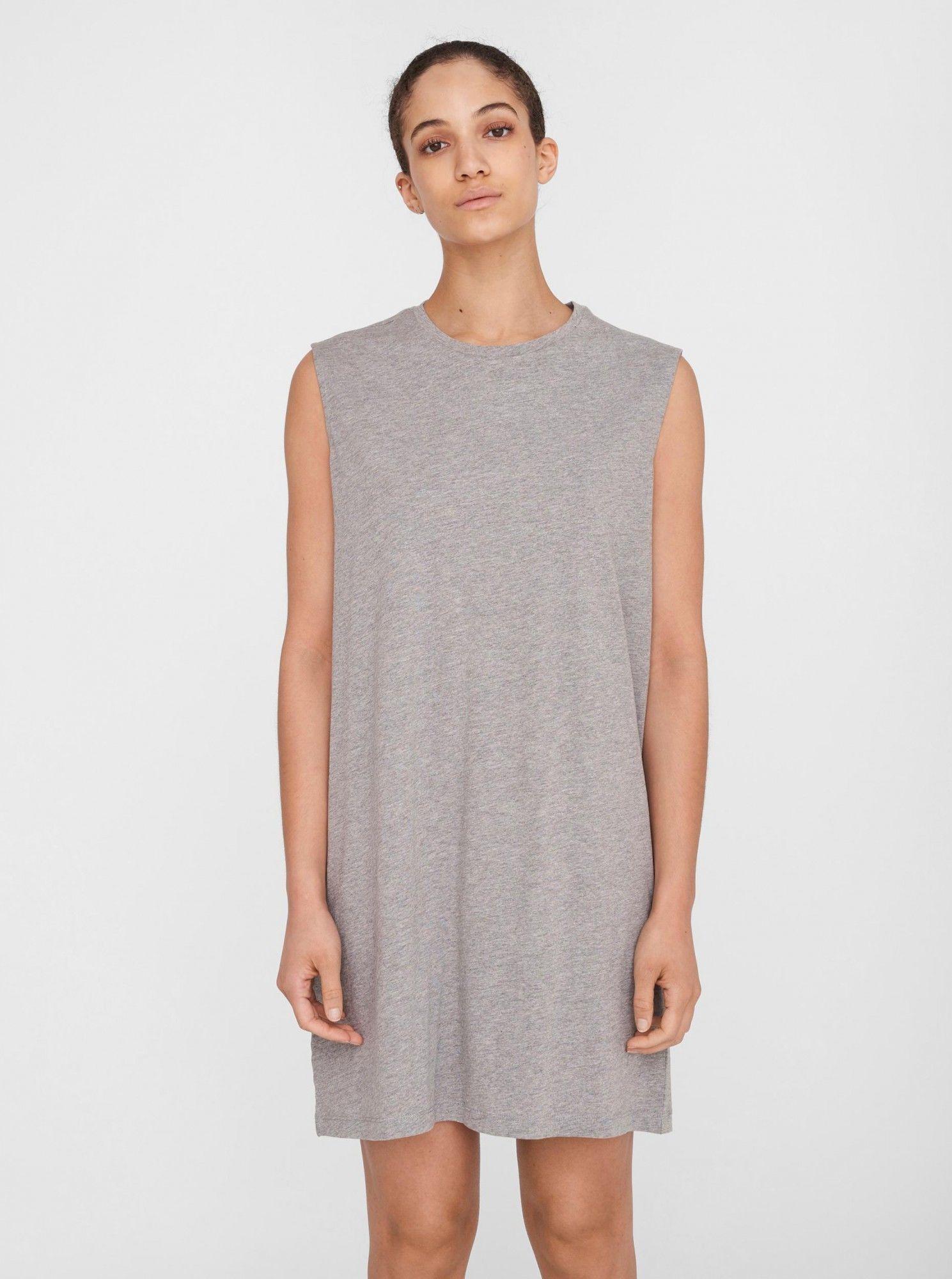 Noisy May jasno szara sukienka Mayden