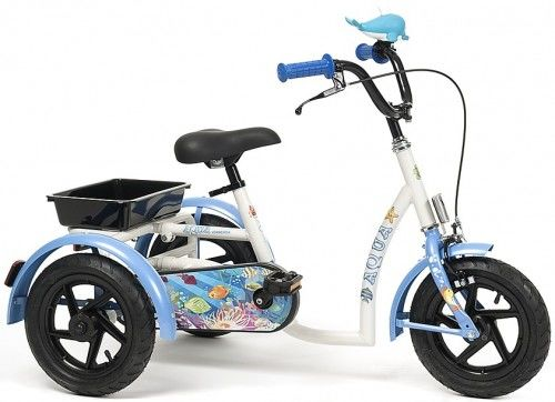 Rowerek trójkołowy dla dziewczynek Aqua