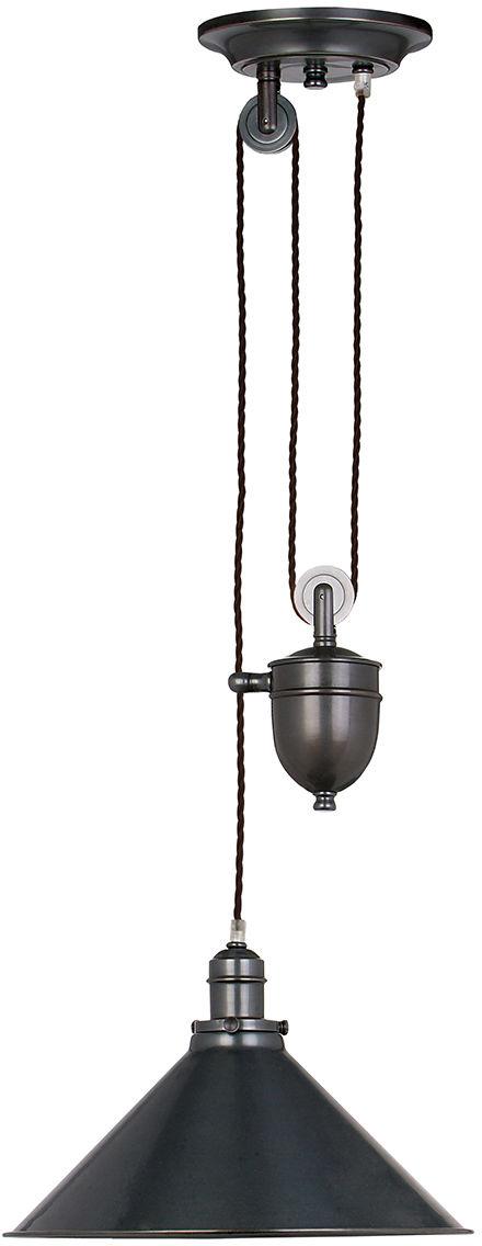 Lampa wisząca Provence PV/P OB Elstead Lighting dekoracyjna oprawa w kolorze brązu
