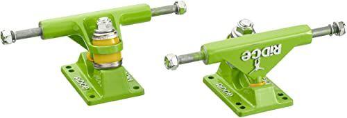 Ridge Skateboards Unisex 27 Trucks deskorolkowe dla Big Brother Cruiser-Green, 10 cm, 10-68 cm