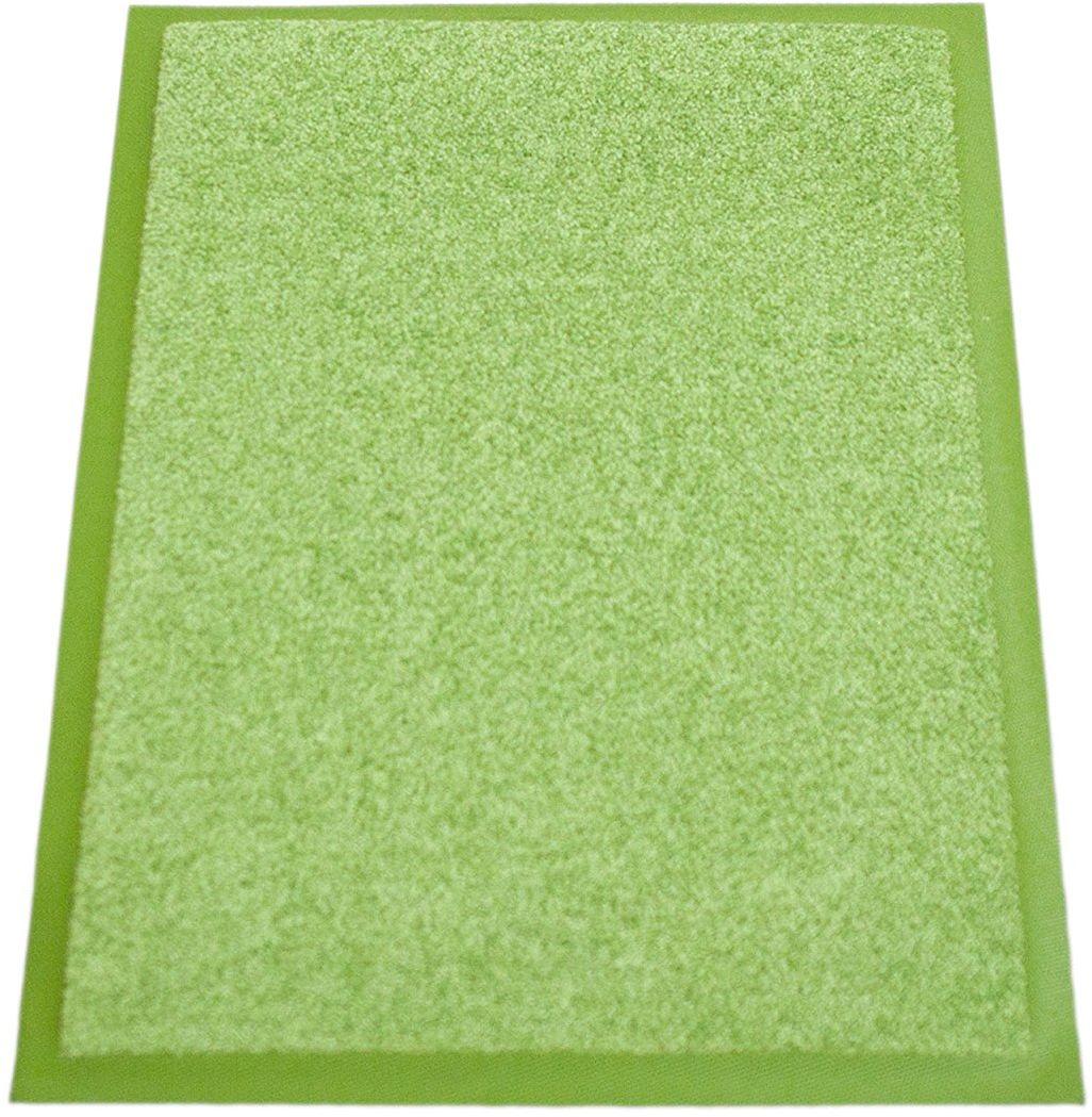 miltex EAZYCARE UNIQ wycieraczka wyłapująca brud, 100% poliamid (run), zielona, 40 x 60 cm