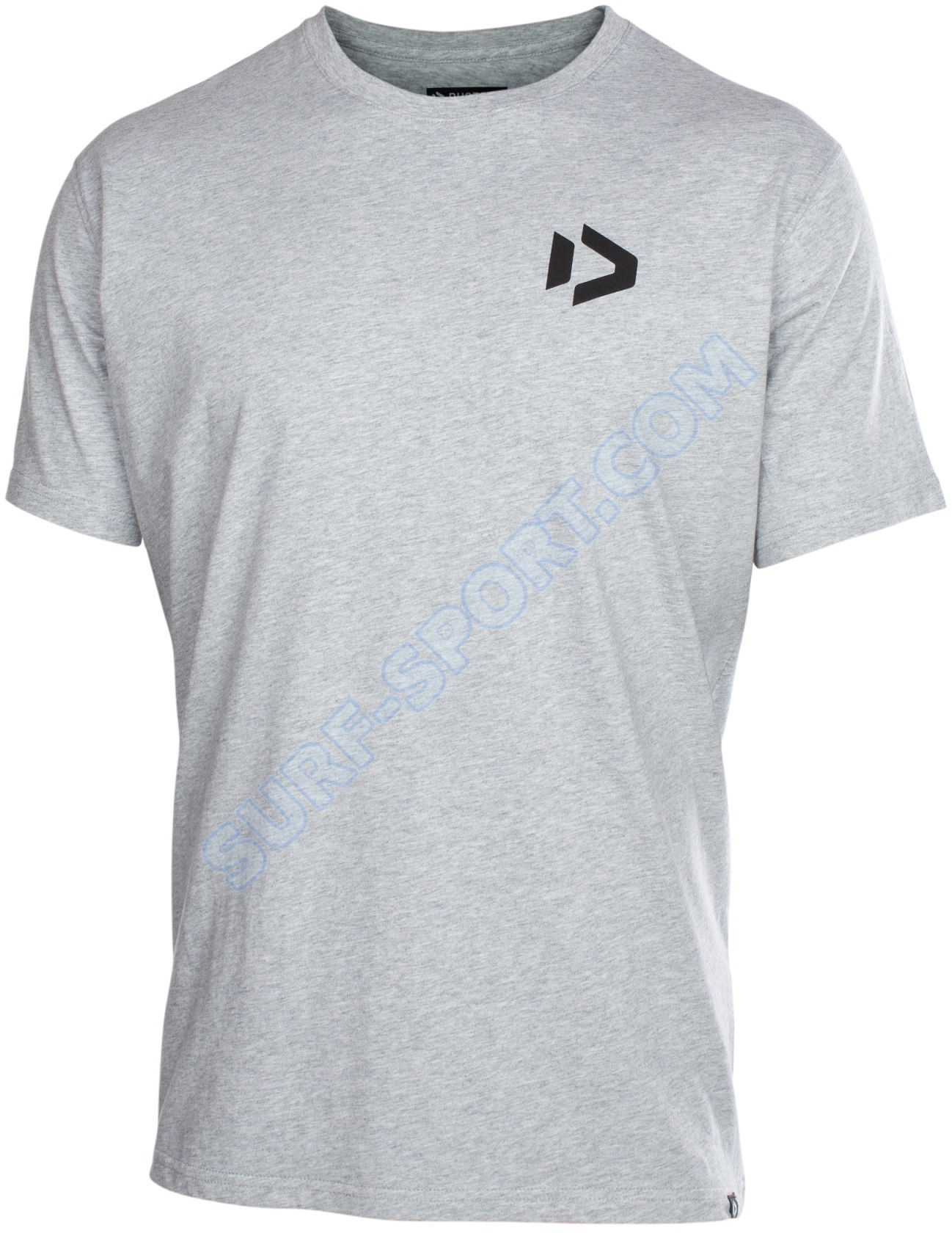 Koszulka Duotone Tee SS Logo 2019 Gray Melange