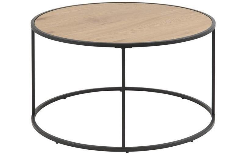 Actona Seaford dąb okrągły stolik
