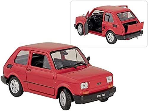 goki 12299 FIAT 126, 1:24, L = 15 cm samochód, kolorowy