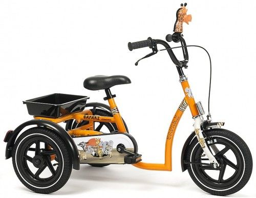 Rower trójkołowy dla chłopców Safari