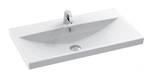 Cerastyle Elite umywalka 80x44,5cm meblowa / ścienna 032200-u