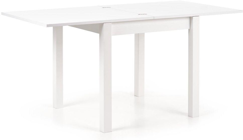 Stół rozkładany MARBELLA 80-160x80 biały