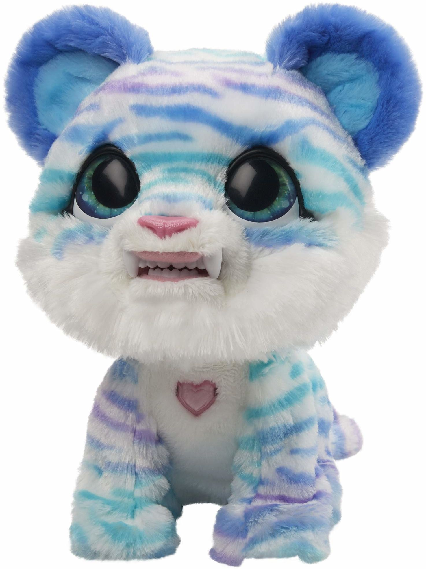furReal Tygrysek szablozębny North, interaktywna zabawka-zwierzątko, ponad 35 kombinacji dźwięków i ruchów, wiek: od 4 lat
