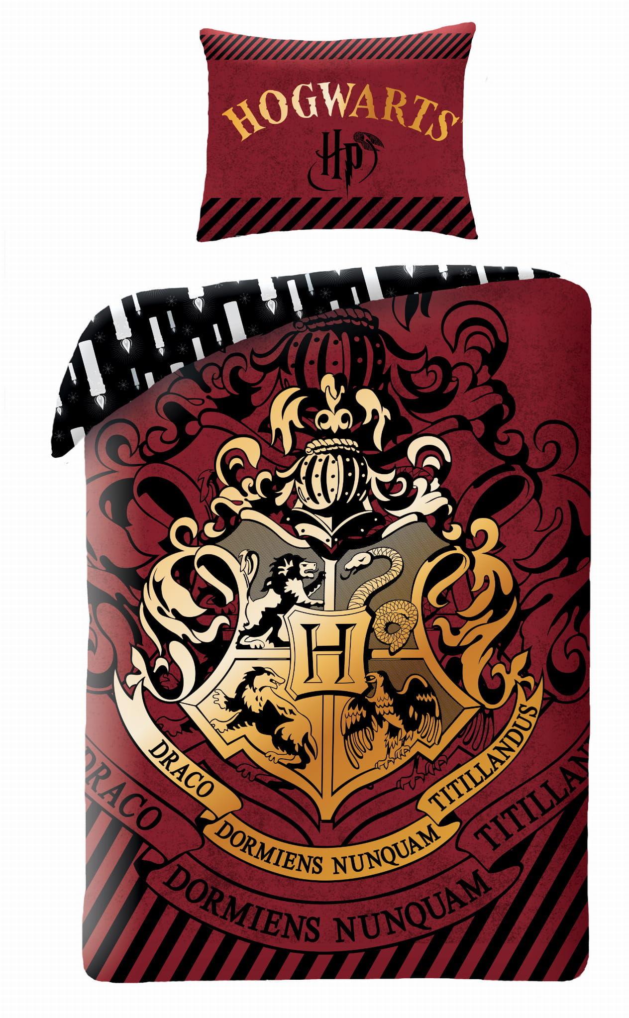 Pościel Harry Potter 140x200 licencyjna bawełniana