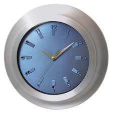 Super zegar aluminiowy abstract