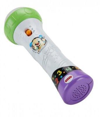 Fisher Price Interaktywny Mikrofon Malucha Śpiewaj i nagrywaj Mattel FBP38