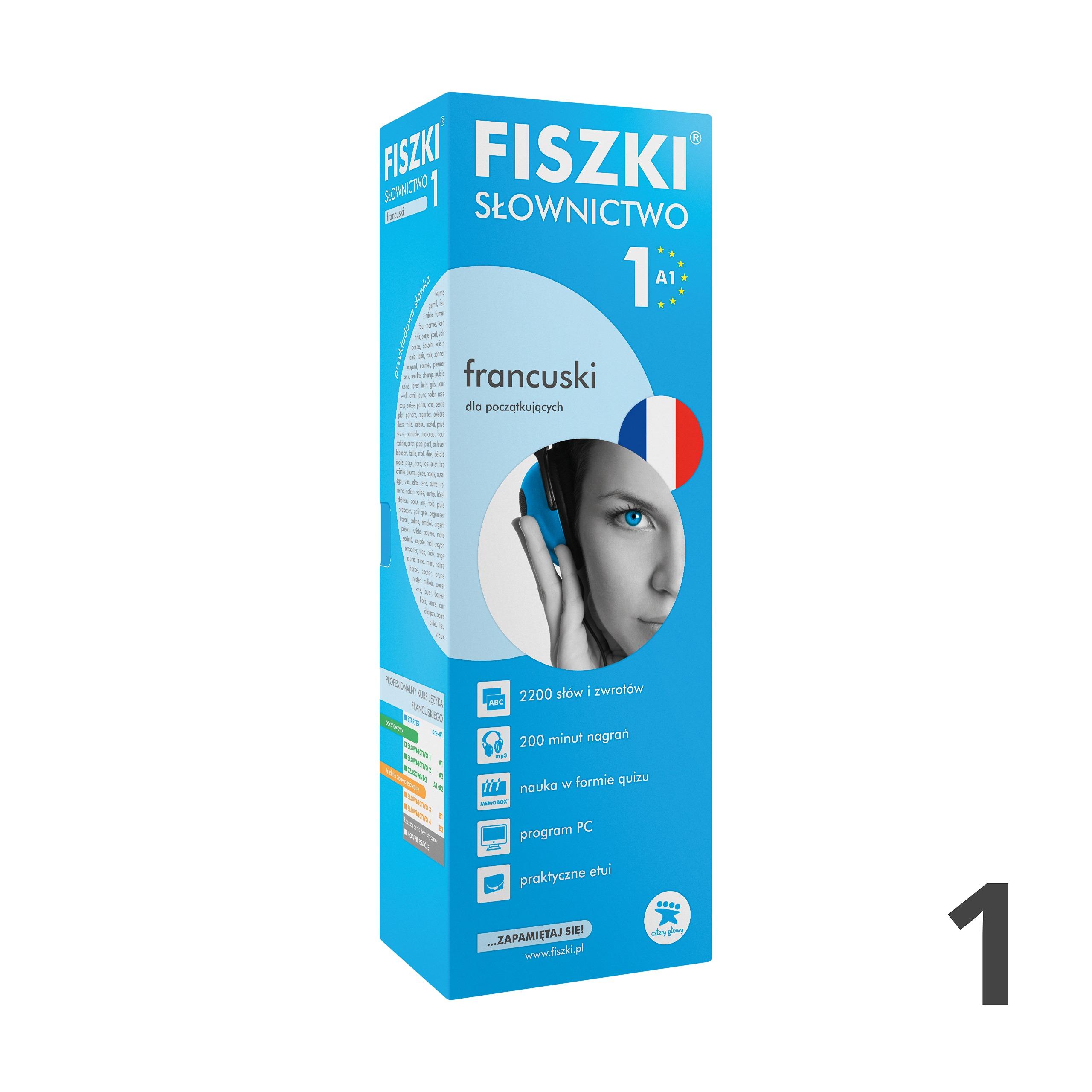 FISZKI - francuski - Słownictwo 1 (A1)