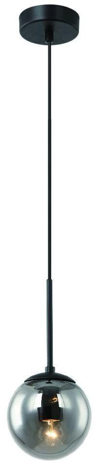 Lampa wisząca Bao Nero I Fume Orlicki Design czarna oprawa w dekoracyjnym stylu