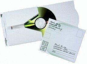 Koperta do wysyłki płyt CD MAIL 5 sztuk /521102/
