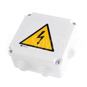 Monitoring placu budowy i magazynów - kamera WiFi w puszcze elektrycznej - DVR-P1