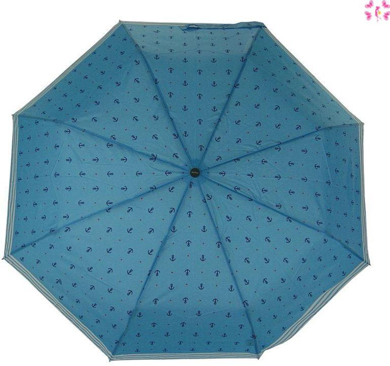 Parasolka damska automat Doppler Marine Light Blue