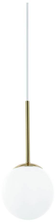 Lampa wisząca Bao I Gold IP44 Orlicki Design złota oprawa w dekoracyjnym stylu