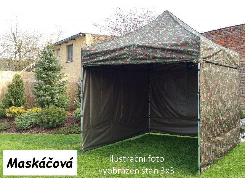 Namiot ogrodowy Party PROFI STEEL 3 x 6 - maskowany