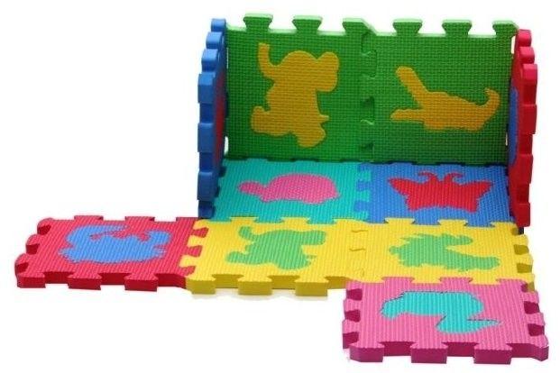 Mata Piankowa Puzzle Zwierzątka