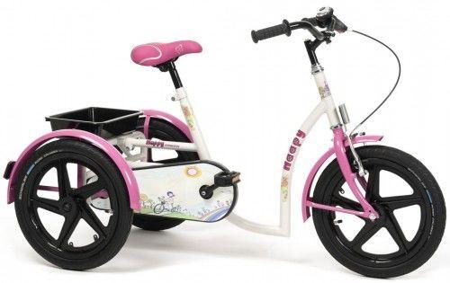 Rowerek trójkołowy dla Dziewczynek happy