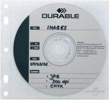 Koszulka na CD/DVD COVER FILE z wyściółką ochronną na 1 płytę 10 sztuk /523919/