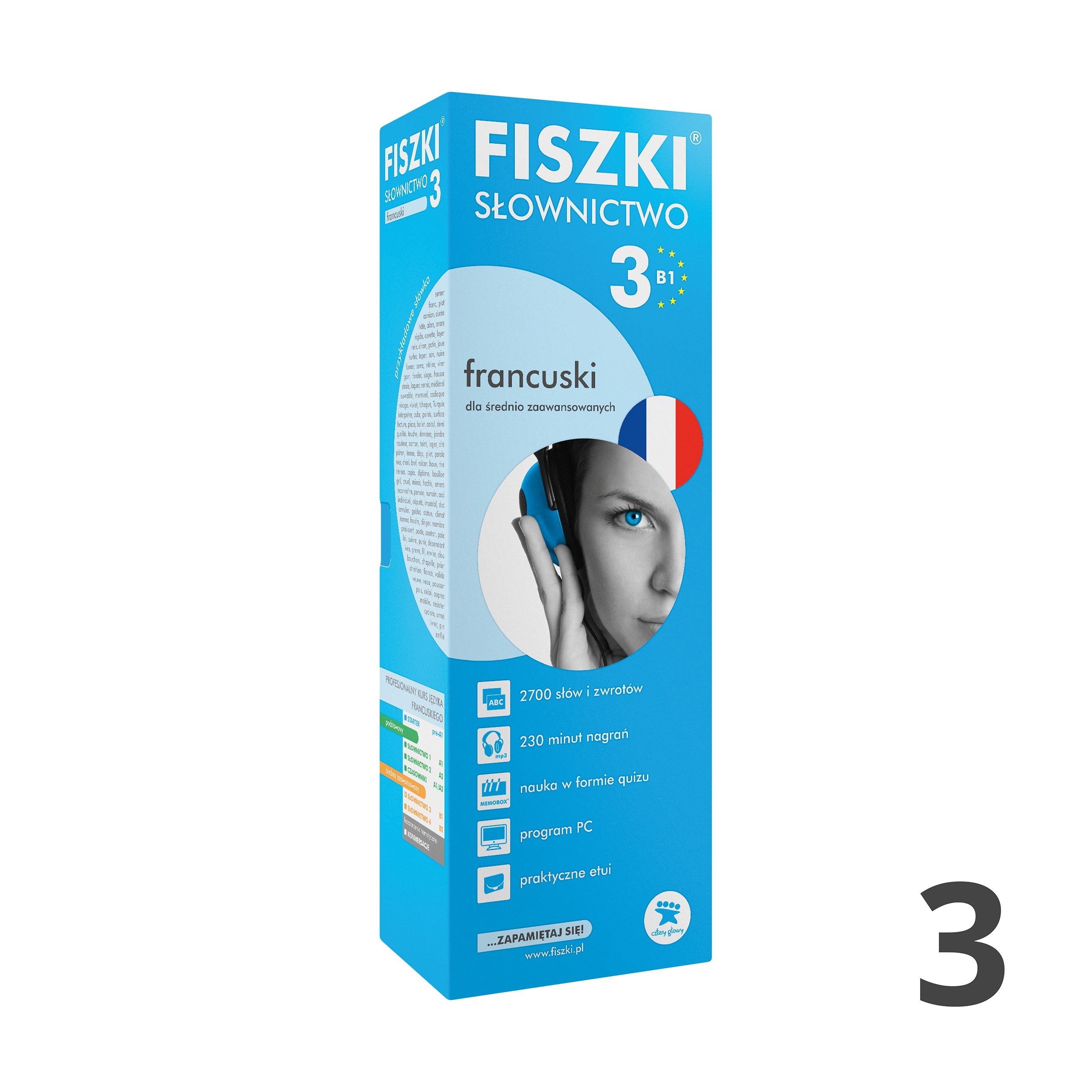 FISZKI - francuski - Słownictwo 3 (B1)