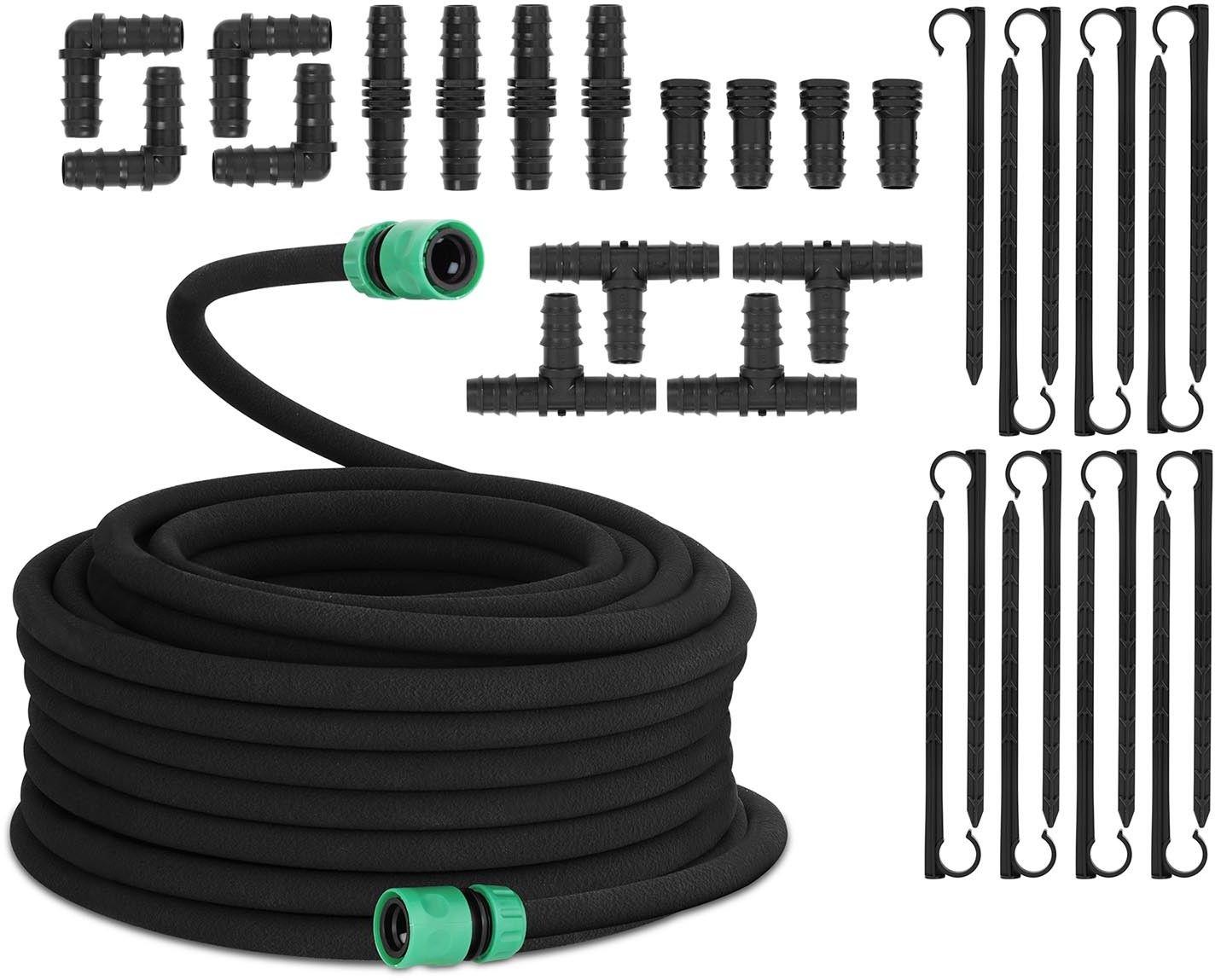Linia kroplująca - akcesoria - 30 m Hillvert 10090154 HT-COSTIGAN-30X12S01