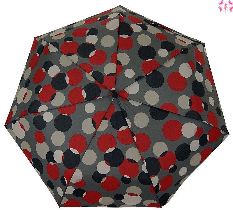 Parasolka damska full-automat Doppler Grey Fashion