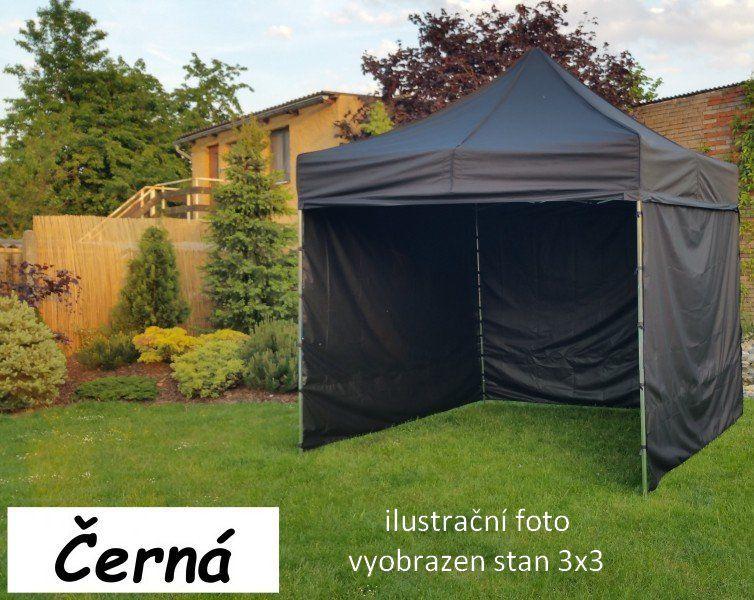 Namiot ogrodowy PROFI STEEL 3 x 6 czarny
