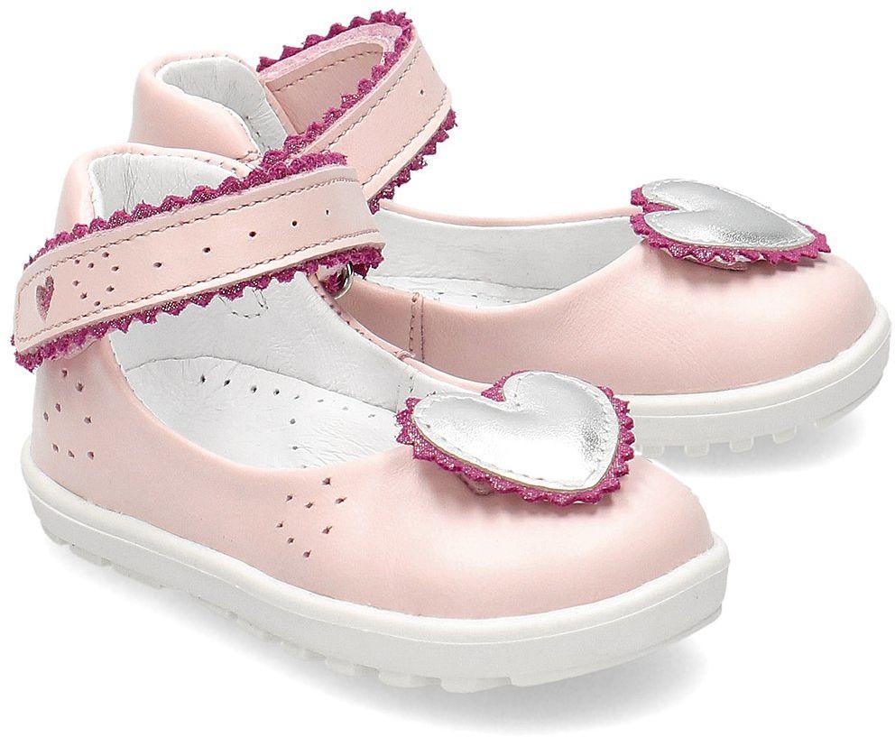 Bartek - Baleriny Dziecięce - 71195-SLP - Różowy