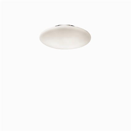 Smarties Bianco PL1 D33 - Ideal Lux - kinkiet/plafon